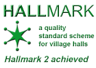 Hallmark 2 achieved: Quality Standards scheme for village halls