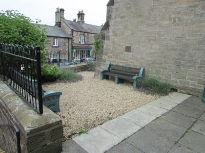 Jubilee Hall Front Entrance and Bench
